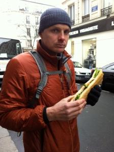 Sandwich on the go