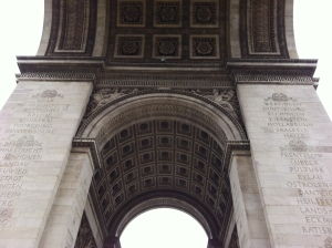 Standing under the Arc