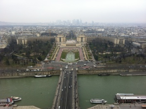 View of Jardin des Tuileries and the Louvre