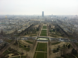 View of Parc du Champ de Mars