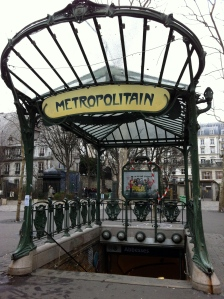 Entrance to the Abbesses Station