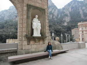 At the monastery