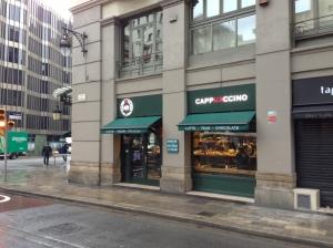 The Cappukccino Coffee Shop