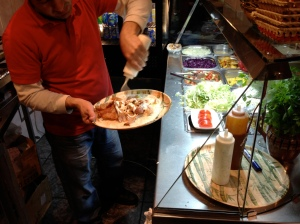 The making of a turkish doner