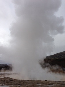 Strokkur post eruption