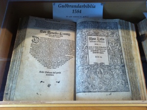 First Icelandic Bible
