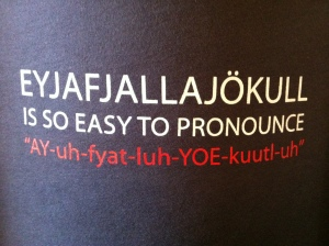 Shirt for sale at the visitor center - hilarious!