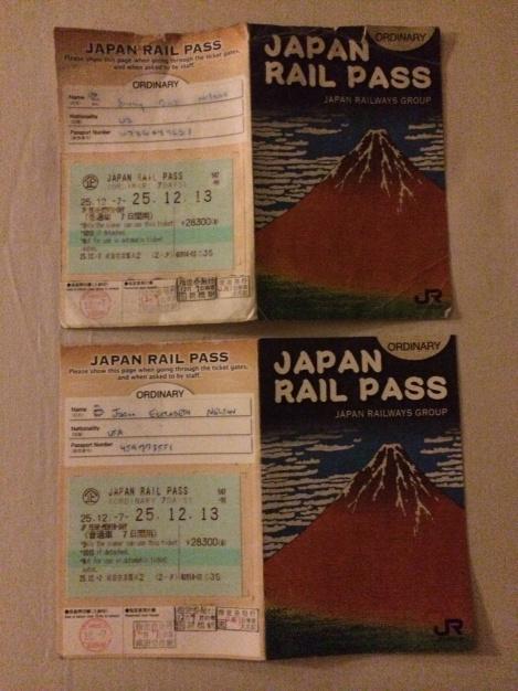 our japan rail passes