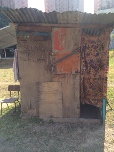 slum pit toilet