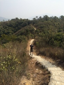 making our way through tai lam country park