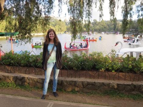the lake at burnham park
