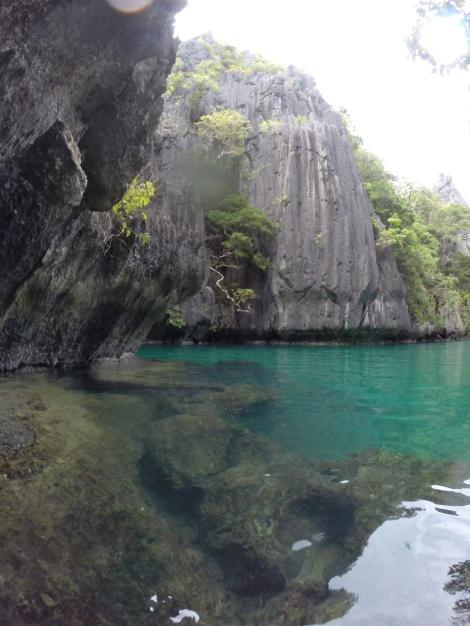 the small lagoon