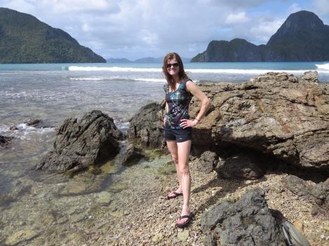 the rocky shorelines of el nido