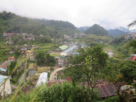the main town of banaue