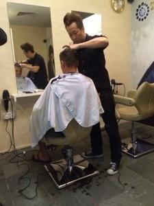 haircut time