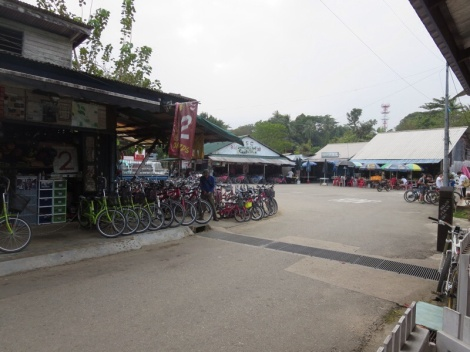 number of bikes outweighs the number of locals