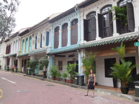 emerald hill just off orchard road - once home to wealthy straits chinese