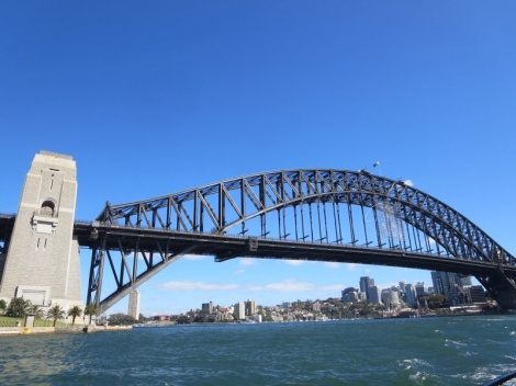 view from the ferry...how many pictures can I take of this bridge?!?