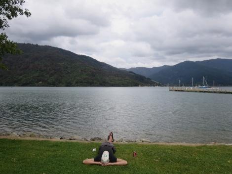 post hike, back in anakiwa
