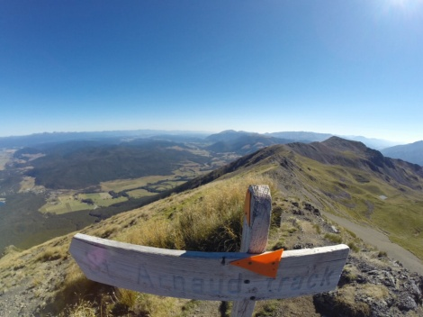 woo hoo! we made it to the ridge!
