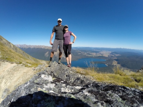 couple shot using the go pro remote feature