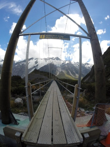 the hooker bluffs bridge