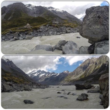 hooker glacier lake