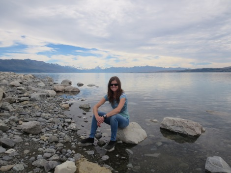 at lake pukaki