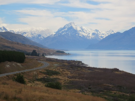 making our way to mt cook national park
