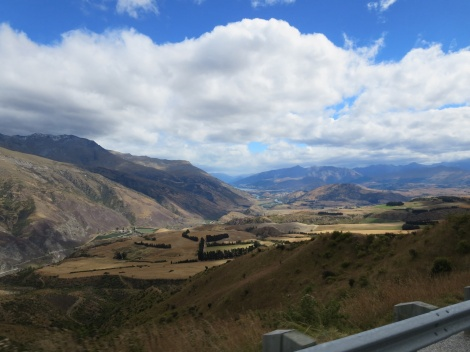 views from crown range road