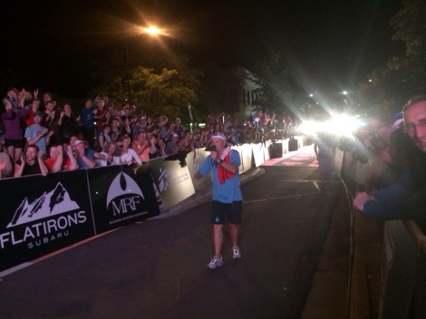 mike reilly, the voice of the ironman, he knows how to work a crowd and bring in each finisher with those four iconic words…you are an ironman!