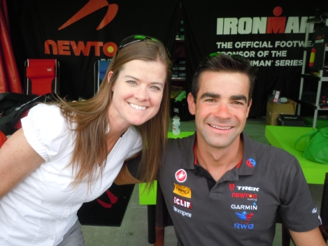 with world champion triathlete timothy o'donnell