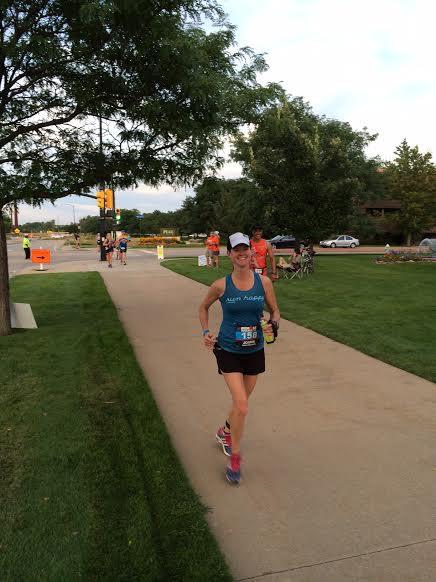 running along pearl parkway