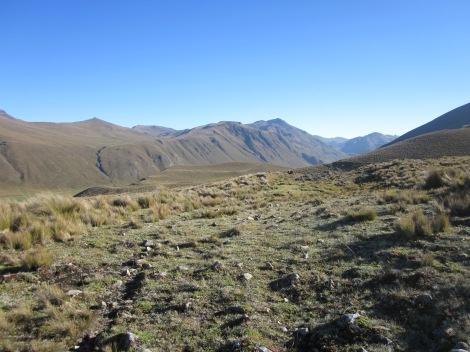 scenery along the inca trail