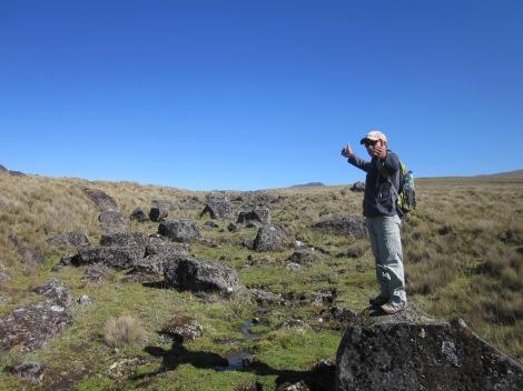 our enthusiastic guide, Segundo Flores