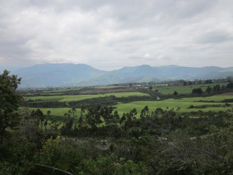 it's surrounding by beautiful farmland